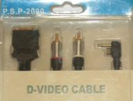 PSP D-VIDEO CABLE TV - ZESTAW - AKCESORIA - FVAT