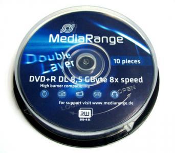 DVD+R DL 8,5 GB MEDIARANGE C.10 ! WYSYŁKA GRATIS