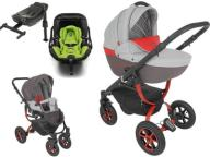 TUTEK GRANDER PLAY 4w1 + KIDDY EVOLUNA iSIZE +BAZA