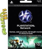 $10 PSN/Playstation Network USA - AUTOMAT 24/7