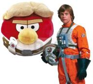 Maskotka Angry Birds Star Wars 21cm Red Skywalker