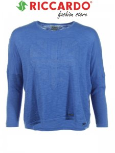 -30% Niebieski luźny SWETER PEPE JEANS na 161 cm