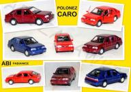 MODEL METAL Welly POLONEZ CARO skala 1:34 Poldek