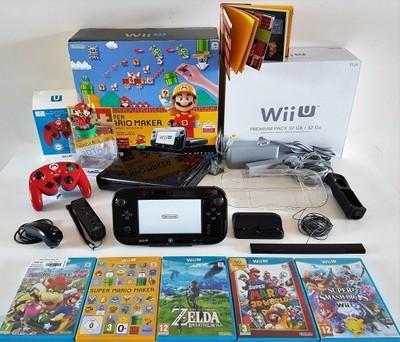 Konsola Wiiu Premium Wii U 32gb Zelda Mario Wys 0 6899166205 Oficjalne Archiwum Allegro