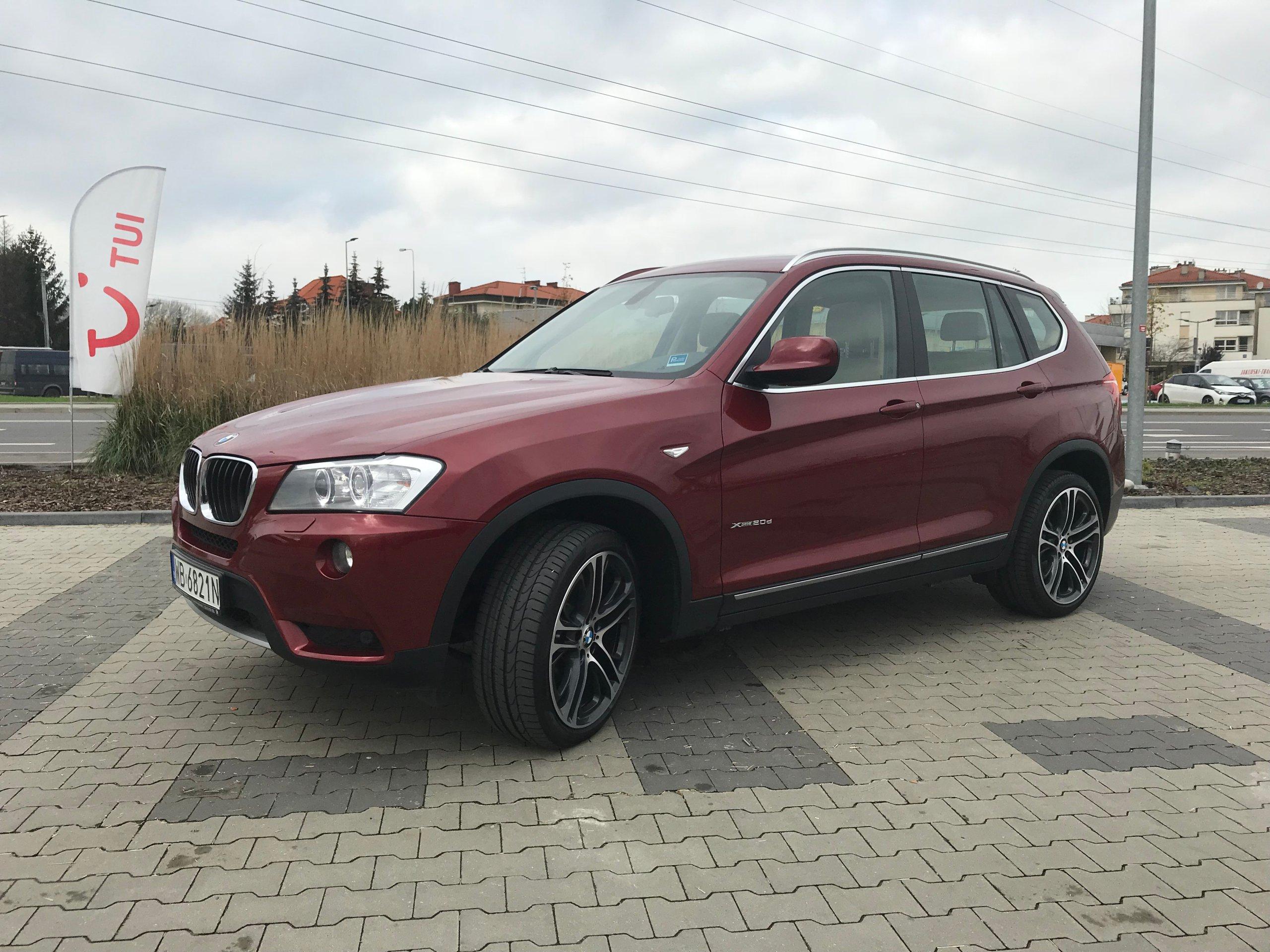 BMW X3 2 0D ASO LEASING WWA VAT23 oficjalne