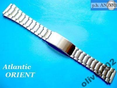 b1e526229fad36 BRANSOLETA do zegarka np. ATLANTIC, ORIENT 19mm - 3480094167 ...