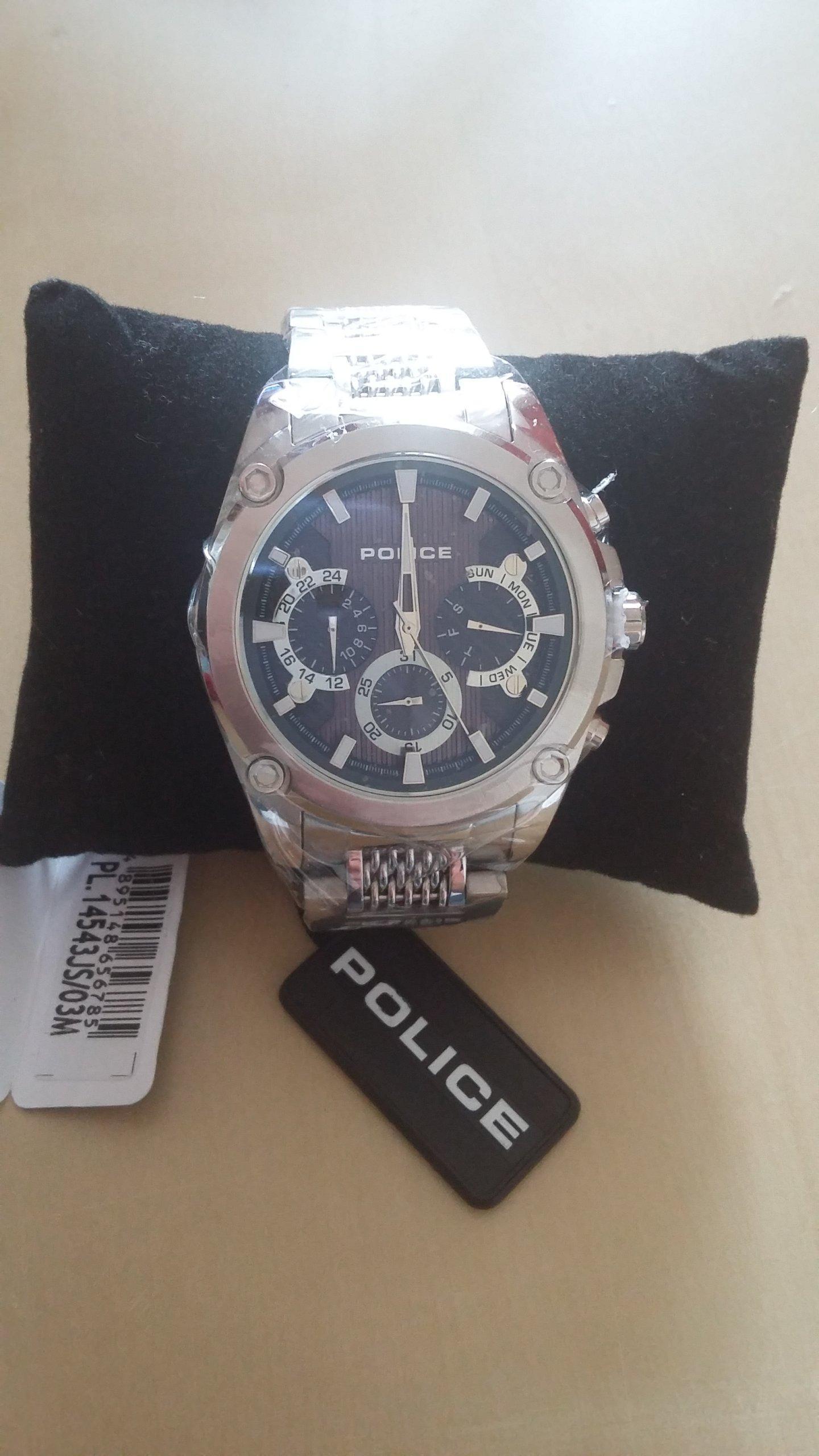 zegarek męski POLICE MESHUP PL.14543JS/03M