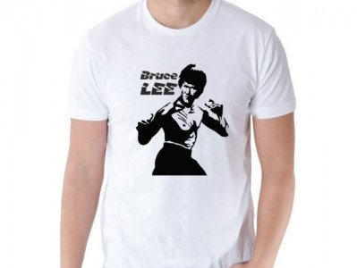 koszulka Bruce Lee Karate Kung Fu S
