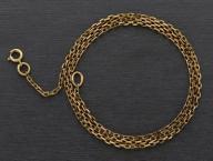 Łańcuszek złoty pr. 585 splot ogniwowy GOLD