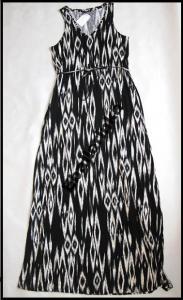 1c69574c39 H M sukienka maxi długa biało czarna XS 34 - 3338158093 - oficjalne ...