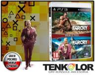 FAR CRY 4 PL + FAR CRY 3 DOUBLE PACK !!! 2 GRY PS3