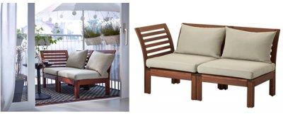 Ikea Meble Ogrodowe Applaro Hallo Sofa 2 Osobowa