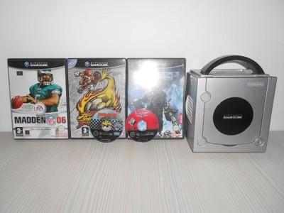 GameCube + 4 gry + 3 pady + 2 memorki