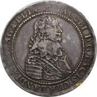 Kurlandia, Talar 1645 r. Mitawa, Rzadki!