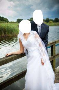 Suknia ślubna Fantazja 6503317393 Oficjalne Archiwum Allegro