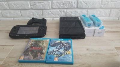Wii U 32gb 4 pady 8 gier Loadiine BCM