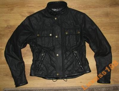 BELSTAFF pikowana woskowana kurtka moto M jak Nowa