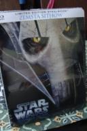 STAR WARS ZEMSTA SITHÓW - Blu-Ray Disc - STEELBOOK