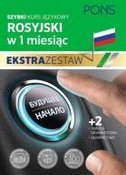 Rosyjski w 1 miesiąc Ekstra zestaw  24h