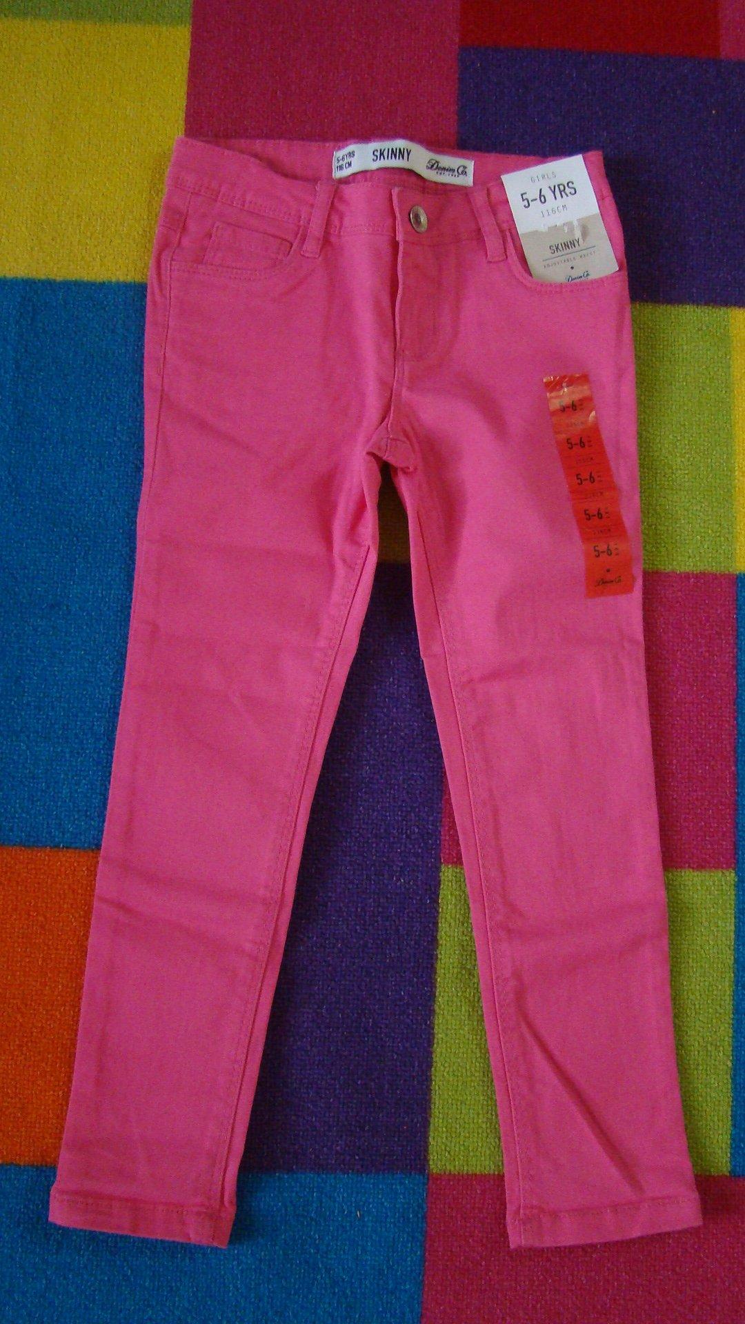 0474da767cc6af Denim Co spodnie dziewczęce SKINNY 110 4-5 lat - 7065502352 ...