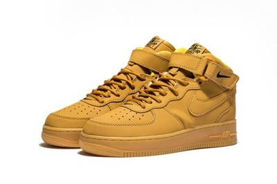 newest 4c77c 985bd Nike Air Force 1 mid miodowe Wiosna HIT! 2017