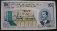 Luksemburg - 100 franków - 1968 - książę Jan