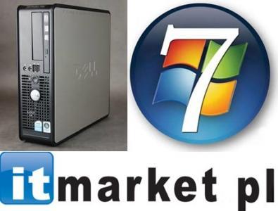 Komputer DELL 780 2x 2,93 GHz 4 GB DDR3 DVDRW WIN7