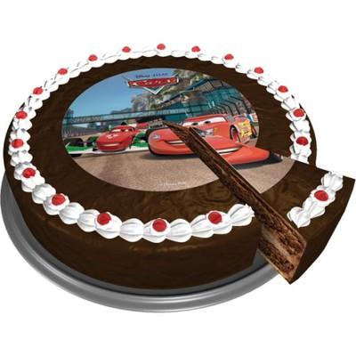Opłatek Na Tort Dekoracja Urodziny Cars Auta 5170248340