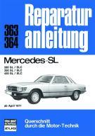 Mercedes 280SL 280SLC 350SL 350SLC 450SL 450SLC
