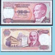 100 lirasi -1983...P194a2....stan bankowy