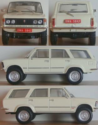Fiat 125p 4x4 Kap 6854650493 Oficjalne Archiwum Allegro