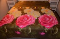 HomeSweetHome-Nakrycie tkanina 3D kwiaty 228x230
