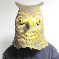 Maska głowa sowy