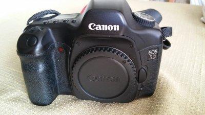 Aparat Canon 5d,po przeglądzie.