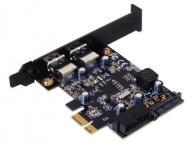 SilverStone EC04 PCI express card 4xUSB 3.0