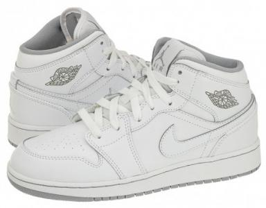 89547c2748e9 Buty Damskie Nike Air Jordan 1 Mid BG Białe 38 - 5713106498 ...