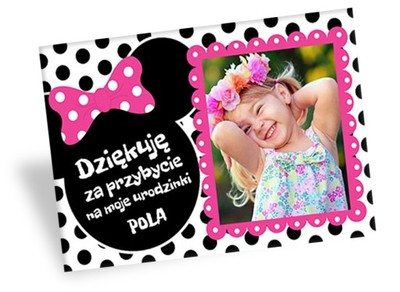 Podziękowania Na Urodziny Roczek Magnes Foto Gości 6691326598