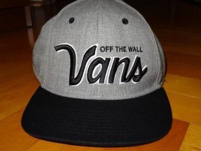Vans Drop V Snapback Hat Czapka z daszkiem Szara