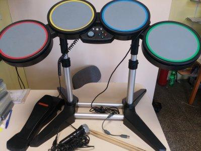 Perkusja Rock band / Guitar Hero xbox 360 / PC