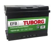 AKUMULATOR TUBORG STARTSTOP EFB 75AH 760A P+