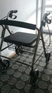 Balkonik Chodzik rehabilitacjny 4 kołowy