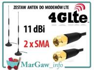 Anteny do internetu LTE Ruter router WiFi ZTE MF28
