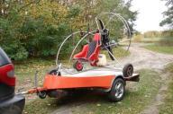 Paralotnia, wózek PPG