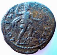 Julia Mamaea AE25,225-235 AD Tracja,bardzo rzadki