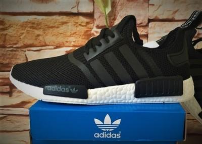 Buty Adidas Originals NMD R1 czarne wiosna 2017