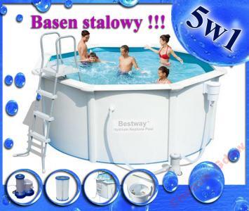 Basen Stelazowy Bestway Stalowy 305 X122 5w1 56290 4319178954 Oficjalne Archiwum Allegro