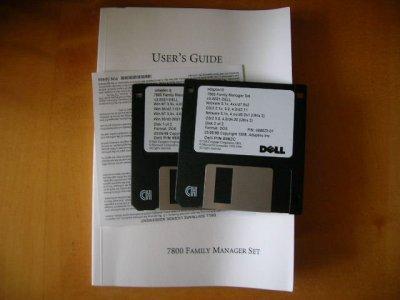 Sterowniki i instrukcja do SCSI Adaptec 7800