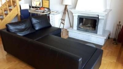 Sofa Skóra Prawie Nowa Rozkładana 6871918101 Narożna Ikea Eko cq3Rj5L4A