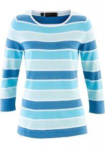 Sweter niebieski 48/50 4XL/5XL 924383 bonprix