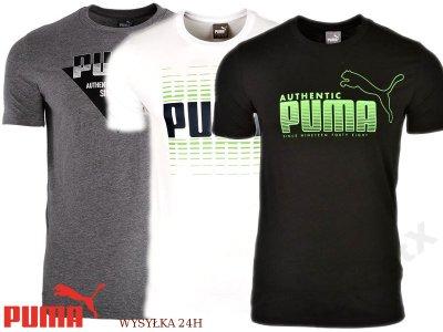 6a883ac3d T-SHIRT Koszulka PUMA AUTHENTIC bawełniana L - 6283153809 ...